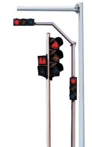 Traffic poles
